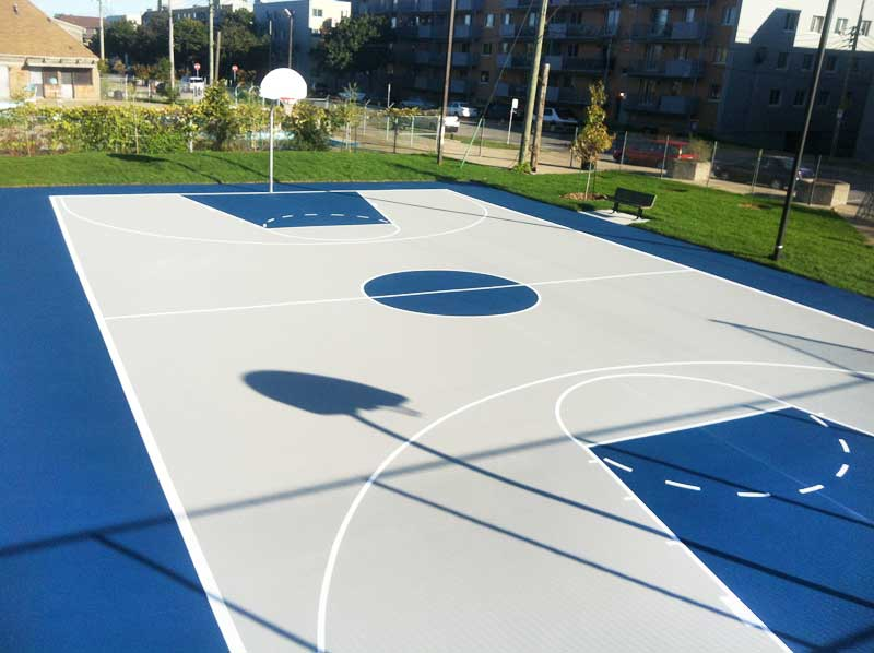 Jopat surfaces sportives - Terrain de basket maison ...